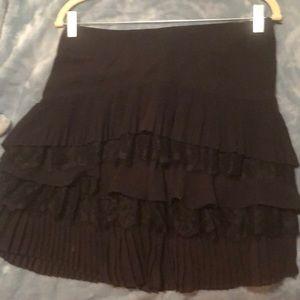 White and Black Market skirt